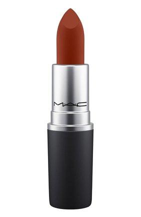 Губная помада powder kiss lipstick, оттенок marrakeshmere (3g) MAC бесцветного цвета, арт. S4K0-40   Фото 1