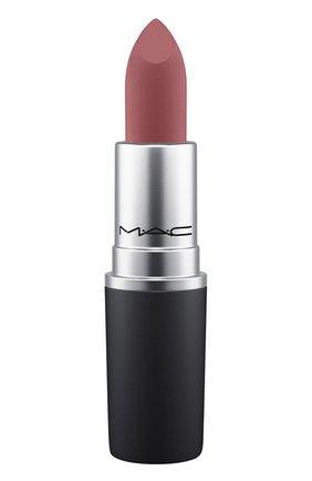 Губная помада powder kiss lipstick, оттенок kinda soarta (3g) MAC бесцветного цвета, арт. S4K0-47   Фото 1