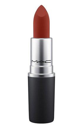 Губная помада powder kiss lipstick, оттенок dubonnet buzz (3g) MAC бесцветного цвета, арт. S4K0-41   Фото 1