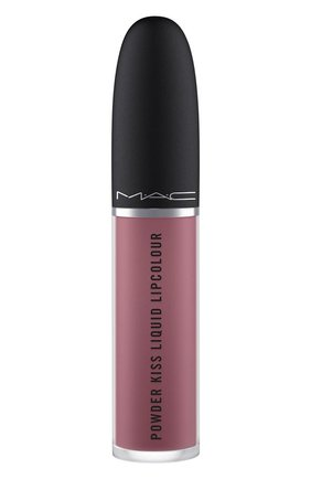 Жидкая помада powder kiss, оттенок ferosh! (5ml) MAC бесцветного цвета, арт. SJC2-26   Фото 2