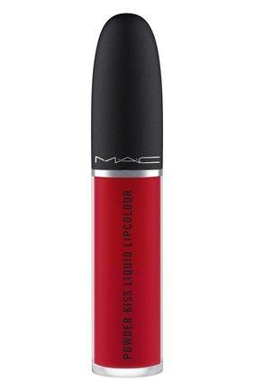 Жидкая помада powder kiss, оттенок haute pants (5ml) MAC бесцветного цвета, арт. SJC2-22   Фото 2