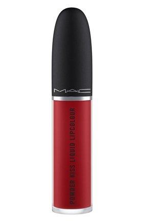 Жидкая помада powder kiss, оттенок fashion, sweetie (5ml) MAC бесцветного цвета, арт. SJC2-19   Фото 2