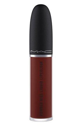 Жидкая помада powder kiss, оттенок pretty pleats! (5ml) MAC бесцветного цвета, арт. SJC2-20   Фото 2