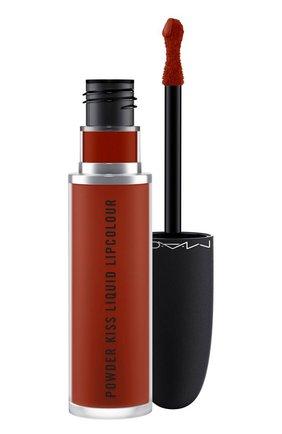 Жидкая помада powder kiss, оттенок marrakeshmere (5ml) MAC бесцветного цвета, арт. SJC2-21   Фото 1