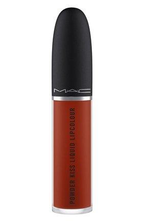 Жидкая помада powder kiss, оттенок marrakeshmere (5ml) MAC бесцветного цвета, арт. SJC2-21   Фото 2