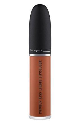 Жидкая помада powder kiss, оттенок impulsive (5ml) MAC бесцветного цвета, арт. SJC2-24   Фото 2