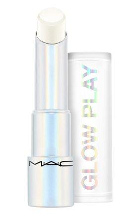 Бальзам для губ glow play, оттенок halo at me (3.5g) MAC бесцветного цвета, арт. SJ8P-12   Фото 1