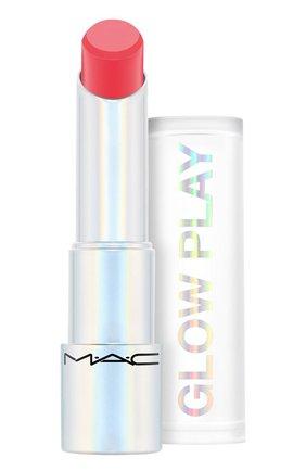 Бальзам для губ glow play, оттенок floral coral (3.5g) MAC бесцветного цвета, арт. SJ8P-08   Фото 1