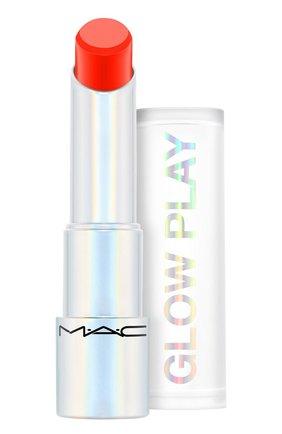Бальзам для губ glow play, оттенок rouge awakening (3.5g) MAC бесцветного цвета, арт. SJ8P-04   Фото 1