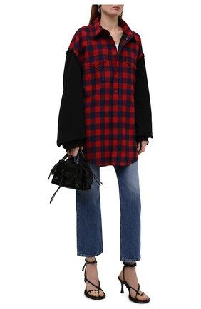 Женская хлопковая куртка BALENCIAGA красного цвета, арт. 658936/TBM23 | Фото 2