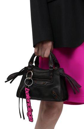 Женская сумка neo classic city mini BALENCIAGA черного цвета, арт. 638524/2VP1V | Фото 2