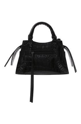 Женская сумка neo classic city mini BALENCIAGA черного цвета, арт. 638524/15V67 | Фото 1