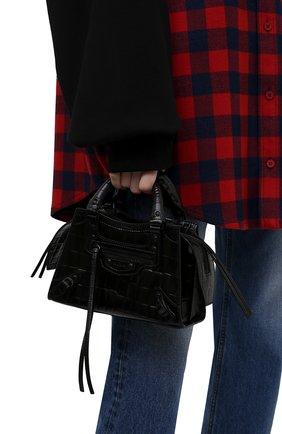 Женская сумка neo classic city mini BALENCIAGA черного цвета, арт. 638524/15V67 | Фото 2