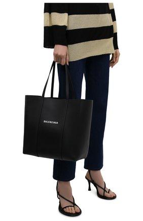 Женский сумка-тоут everyday s BALENCIAGA черного цвета, арт. 551812/D6W2N | Фото 2 (Материал: Натуральная кожа; Сумки-технические: Сумки-шопперы; Размер: small, medium)