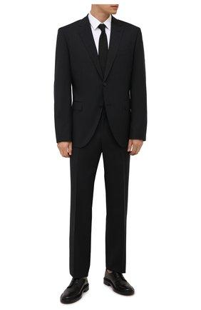 Мужская хлопковая сорочка BOSS белого цвета, арт. 50453978 | Фото 2 (Материал внешний: Хлопок; Рукава: Длинные; Длина (для топов): Стандартные; Случай: Формальный; Рубашки М: Regular Fit; Манжеты: На пуговицах; Принт: Однотонные; Воротник: Кент; Стили: Классический)