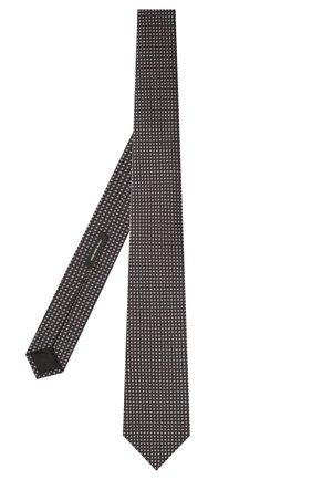 Мужской шелковый галстук BOSS темно-фиолетового цвета, арт. 50461056 | Фото 2 (Материал: Шелк, Текстиль; Принт: С принтом)