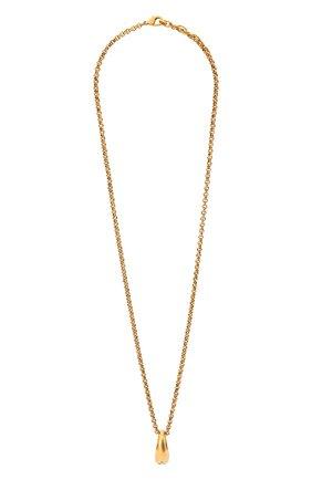 Мужского цепь с кулоном DSQUARED2 золотого цвета, арт. NEM0110/37200001 | Фото 1