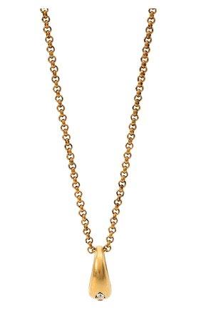 Мужского цепь с кулоном DSQUARED2 золотого цвета, арт. NEM0110/37200001 | Фото 2