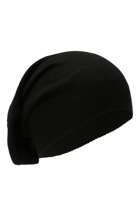 Мужская шерстяная шапка RICK OWENS черного цвета, арт. RU02A5493/M   Фото 1