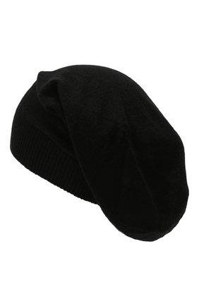Мужская шерстяная шапка RICK OWENS черного цвета, арт. RU02A5493/M   Фото 2