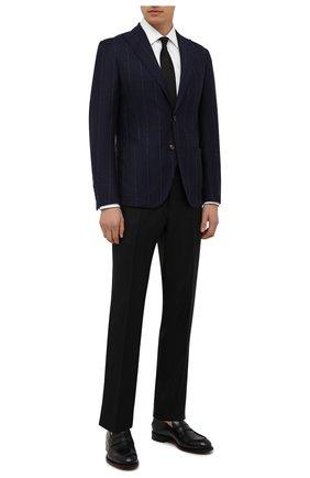 Мужской шерстяной пиджак ELEVENTY темно-синего цвета, арт. D70GIAA05 TES0D031 | Фото 2