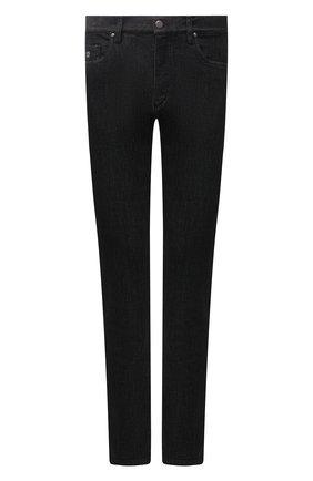 Мужские джинсы PAUL&SHARK черного цвета, арт. 11314140R/CYI | Фото 1