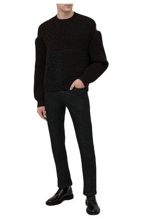 Мужские джинсы PAUL&SHARK черного цвета, арт. 11314140R/CYI | Фото 2