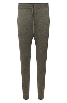 Мужские джоггеры из шерсти и кашемира RALPH LAUREN хаки цвета, арт. 790812536 | Фото 1 (Материал внешний: Шерсть; Силуэт М (брюки): Джоггеры; Мужское Кросс-КТ: Брюки-трикотаж; Кросс-КТ: Спорт; Стили: Спорт-шик; Длина (брюки, джинсы): Стандартные)