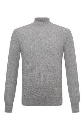 Мужской кашемировый свитер Z ZEGNA серого цвета, арт. VYH20/ZZ118 | Фото 1