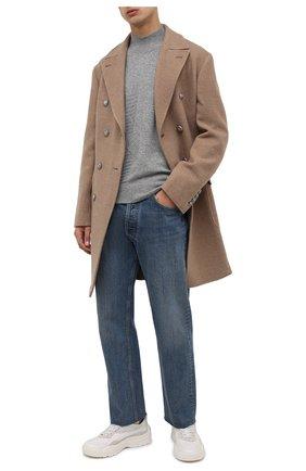 Мужской кашемировый свитер Z ZEGNA серого цвета, арт. VYH20/ZZ118 | Фото 2