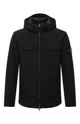 Мужская утепленная куртка STONE ISLAND черного цвета, арт. 751541427 | Фото 1