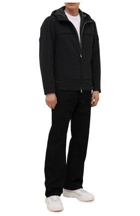 Мужская утепленная куртка STONE ISLAND черного цвета, арт. 751541427 | Фото 2