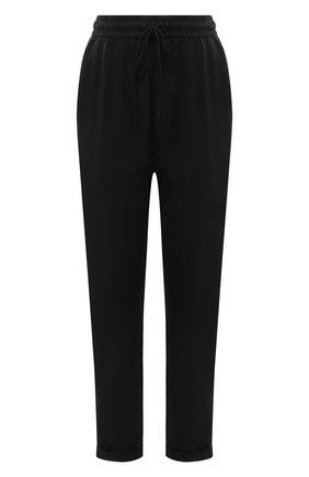 Женские брюки BOSS черного цвета, арт. 50453894 | Фото 1