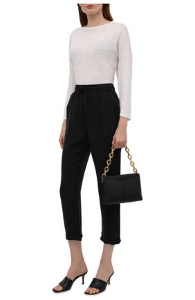 Женские брюки BOSS черного цвета, арт. 50453894 | Фото 2
