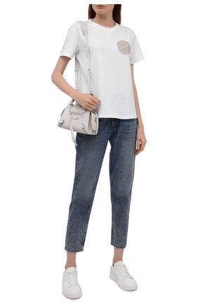 Женские джинсы BOSS синего цвета, арт. 50455363 | Фото 2