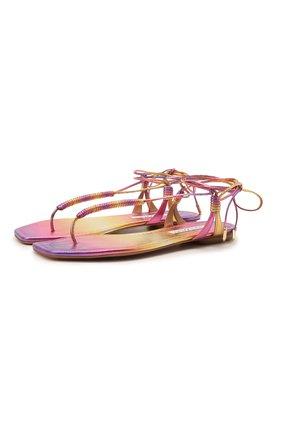 Кожаные сандалии Sole | Фото №1