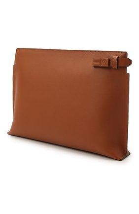 Женские кожаный футляр для документов LOEWE светло-коричневого цвета, арт. C643W05X01 | Фото 2