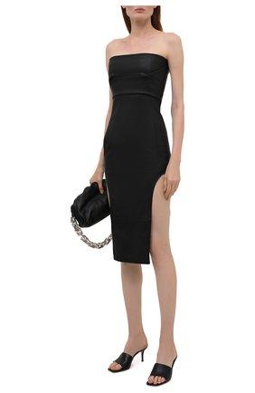 Женское платье RICK OWENS черного цвета, арт. RP02A7515/LS   Фото 2