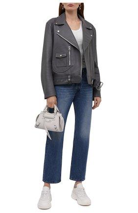 Женские джинсы MAISON MARGIELA синего цвета, арт. S51LA0150/S30561   Фото 2