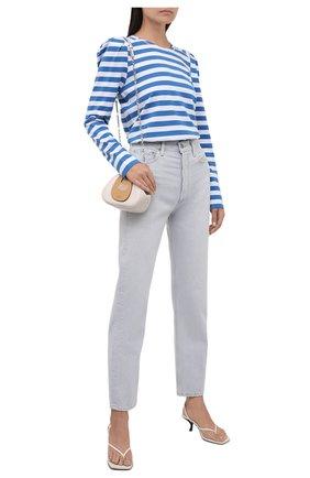 Женские джинсы AGOLDE серо-голубого цвета, арт. A154-1337 | Фото 2