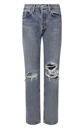 Женские джинсы AGOLDE тёмно-голубого цвета, арт. A140-1206 | Фото 1