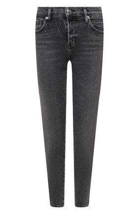 Женские джинсы AGOLDE темно-серого цвета, арт. A123-1274 | Фото 1