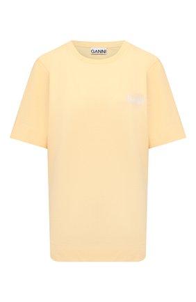 Женская футболка GANNI  цвета, арт. T2917   Фото 1