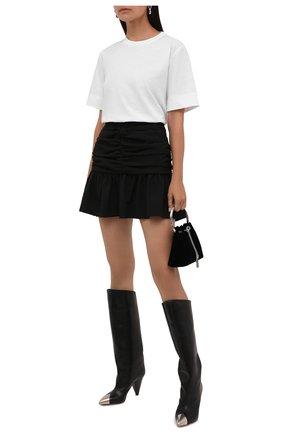 Женская футболка GANNI белого цвета, арт. T2917   Фото 2