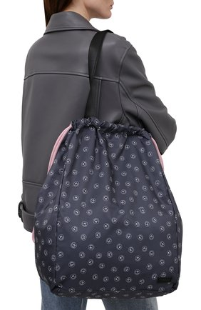 Женская сумка GANNI темно-синего цвета, арт. A3444   Фото 2