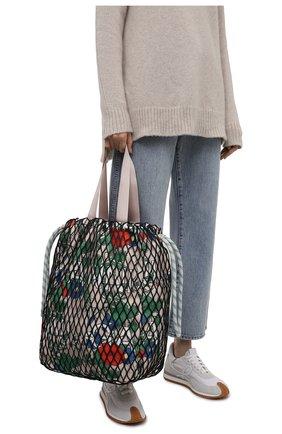 Женская сумка GANNI разноцветного цвета, арт. A3296   Фото 2