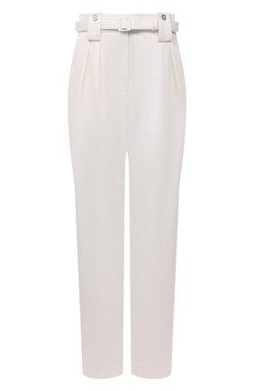 Женские хлопковые брюки JIL SANDER молочного цвета, арт. JPPT310400-WT243500   Фото 1