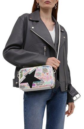 Женская сумка GOLDEN GOOSE DELUXE BRAND разноцветного цвета, арт. GWA00101.A000258 | Фото 2