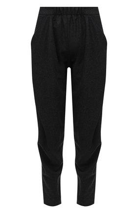 Женские шерстяные брюки GIORGIO ARMANI темно-серого цвета, арт. 1WHPP0IQ/T016Z   Фото 1