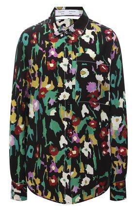 Женская рубашка из вискозы PROENZA SCHOULER WHITE LABEL разноцветного цвета, арт. WL2134241-BY196-FLRL | Фото 1